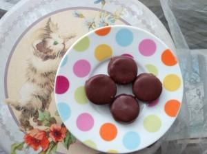 Bouchées vegan orange chocolat