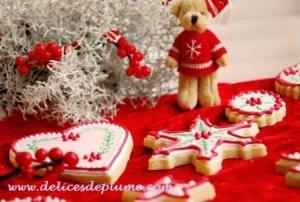 biscuits décorés noel 2012