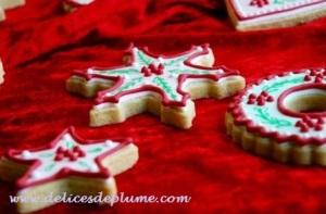 biscuits décorés noël 2012
