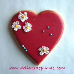 biscuit coeur japonais