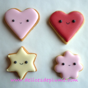 biscuits kawaii détails
