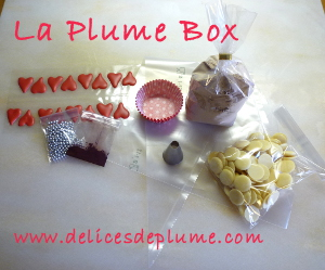kit plume box: contenu