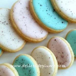Biscuits oeufs de Pâques vegan