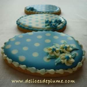 Biscuits décorés oeufs de Pâques