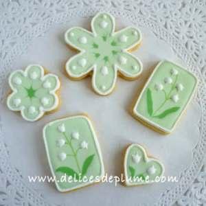 biscuits muguet 1er mai