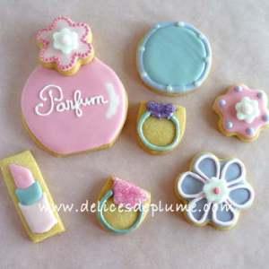 Biscuits décorés beauté