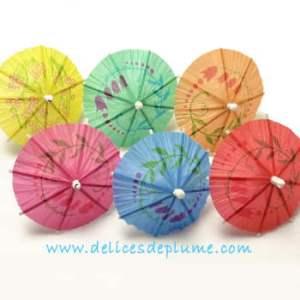ombrelles chinoises en papier