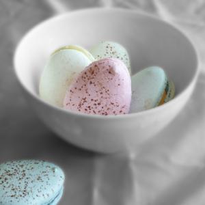 macarons oeufs