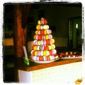 pyramide macarons