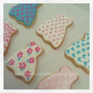 Biscuits décorés robes