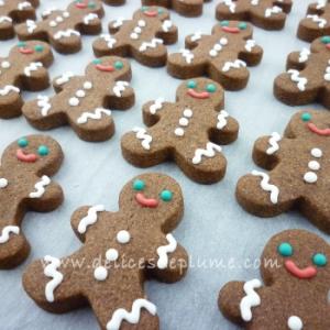 Biscuits bonshommes