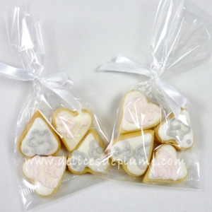 Biscuits décorés cadeau d'invité