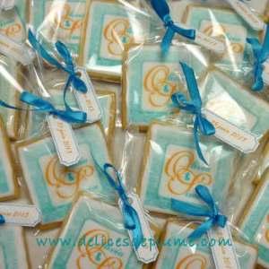 Biscuits imprimés mariage
