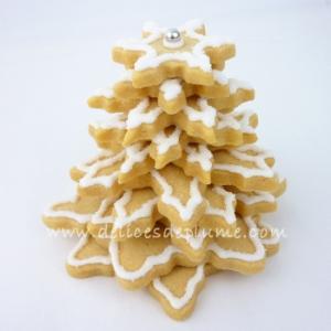 Sapin en biscuit 3D