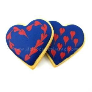 Biscuits coeur marine