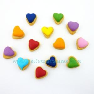 Mini biscuits coeurs