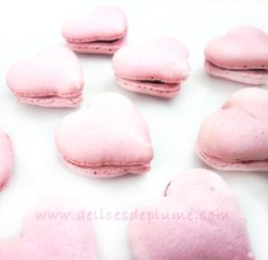 macarons coeurs