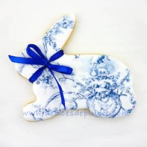 Biscuit en forme de lapin