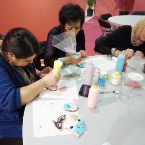 Atelier décoration de biscuits