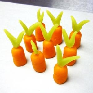 carottes pate d'amande