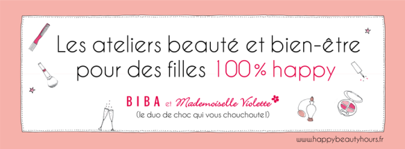 Bannière Happy beauty Hours