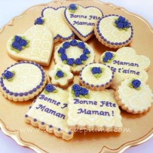 Biscuits décorés Fête des mères