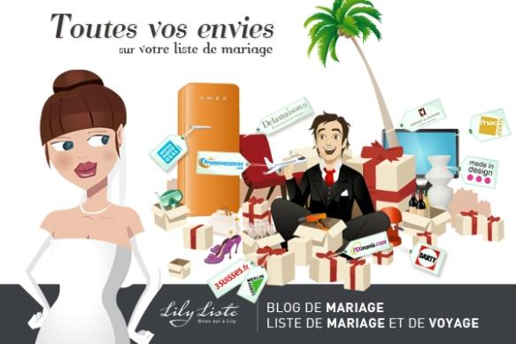 Partenaire mariage Lily Liste