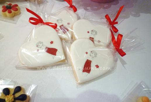 Biscuits imprimés logo