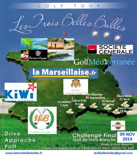 affiche golf tour