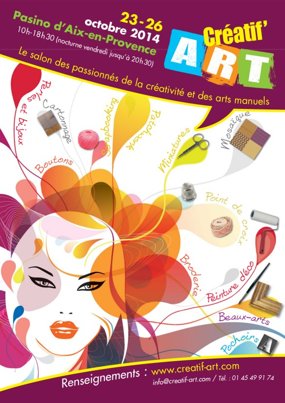 Salon creatif art aix
