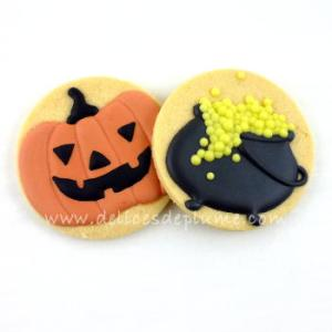 Biscuits décorés Halloween