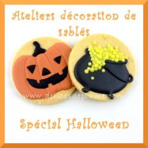 biscuits décorés Haloween