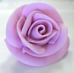 Rose pâte à sucre