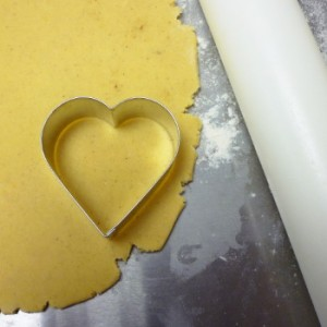 pâte sablée étalée