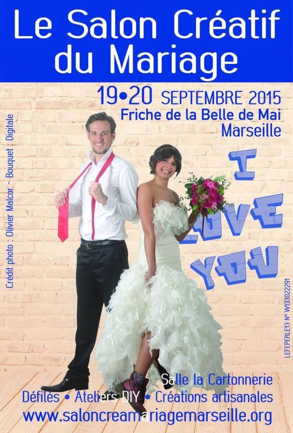 Affiche salon créatif du mariage 2015